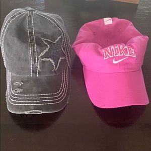 Nike hat and star boutique hat